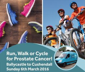 Run, Walk or Cycle for Prostate Cancer!