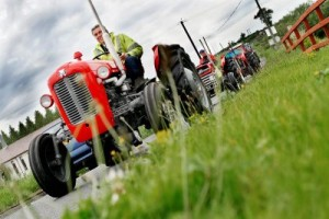 Annual Glastry Tractor Run