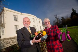 Bill Jeffrey and Rita Murray stress the importance of healthy eating and exercise for the over 60s