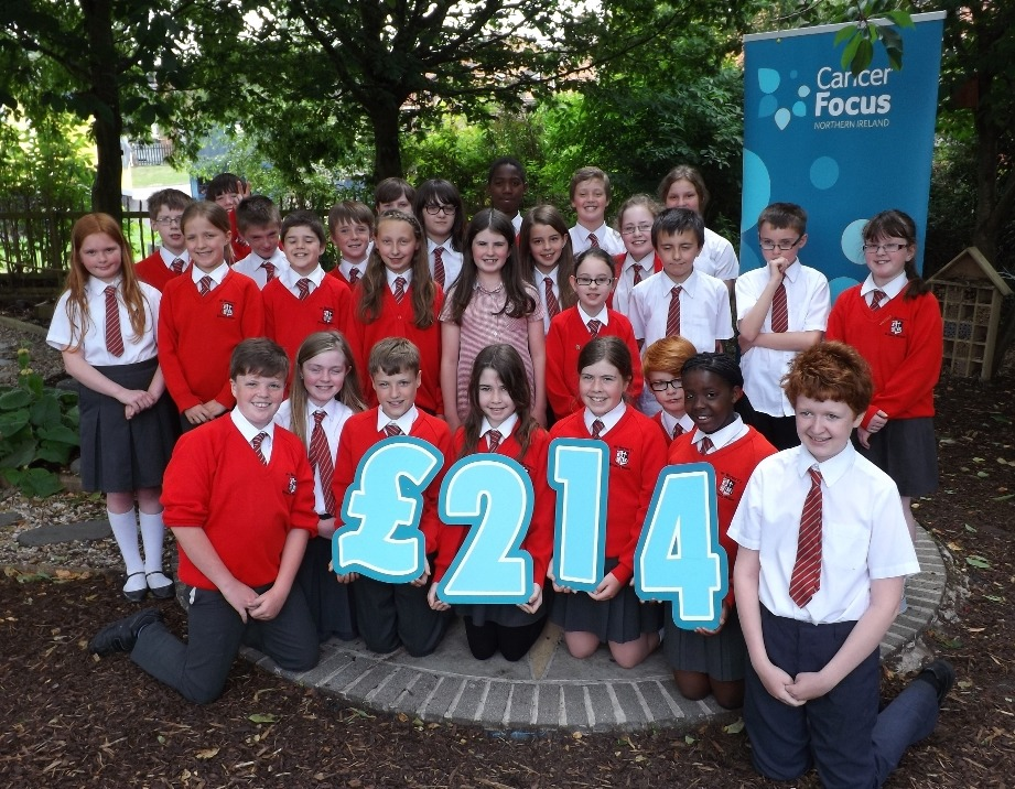 Schools Fundraising Cancer Focus Northern Ireland