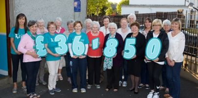 Rathfriland's Cancer Focus fundraising group are thrilled to announce the staggering amount the local community has helped raise for Cancer Focus NI over the past year.