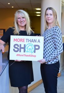 Angela and Alanna from our hardworking shops team