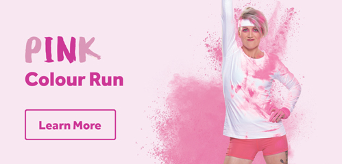 In Pink colour run