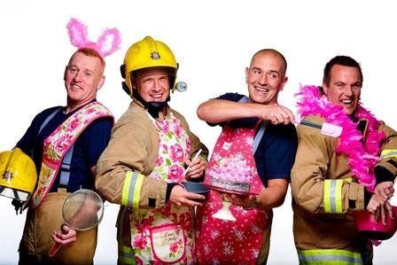 Belfast firemen help fight breast cancer