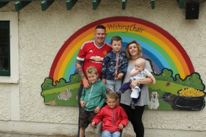 Ciara, Michael, Kian (7), Ryan (5), Marc (4) and Ethan (five months).