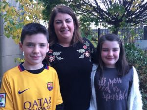The Muray family help raise cash for Cancer Focus Northern Ireland family support service