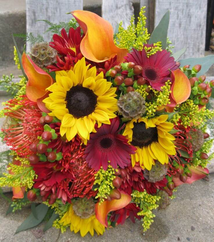 harvest-themed-flowers