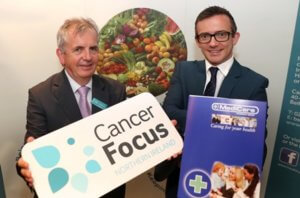 Gerry McElwee, Cancer Focus NI , with Colin Deehan, MediC