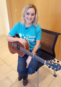 Derry songbird Niamh McGlinchey performs at Cancer Focus NI