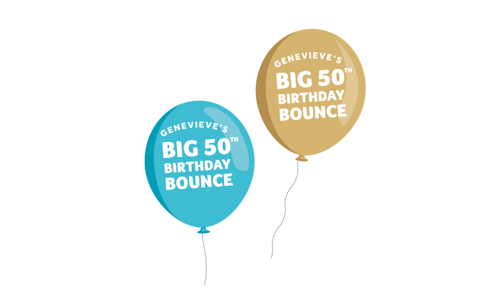 Genevieve's 50th Birthday Bounce
