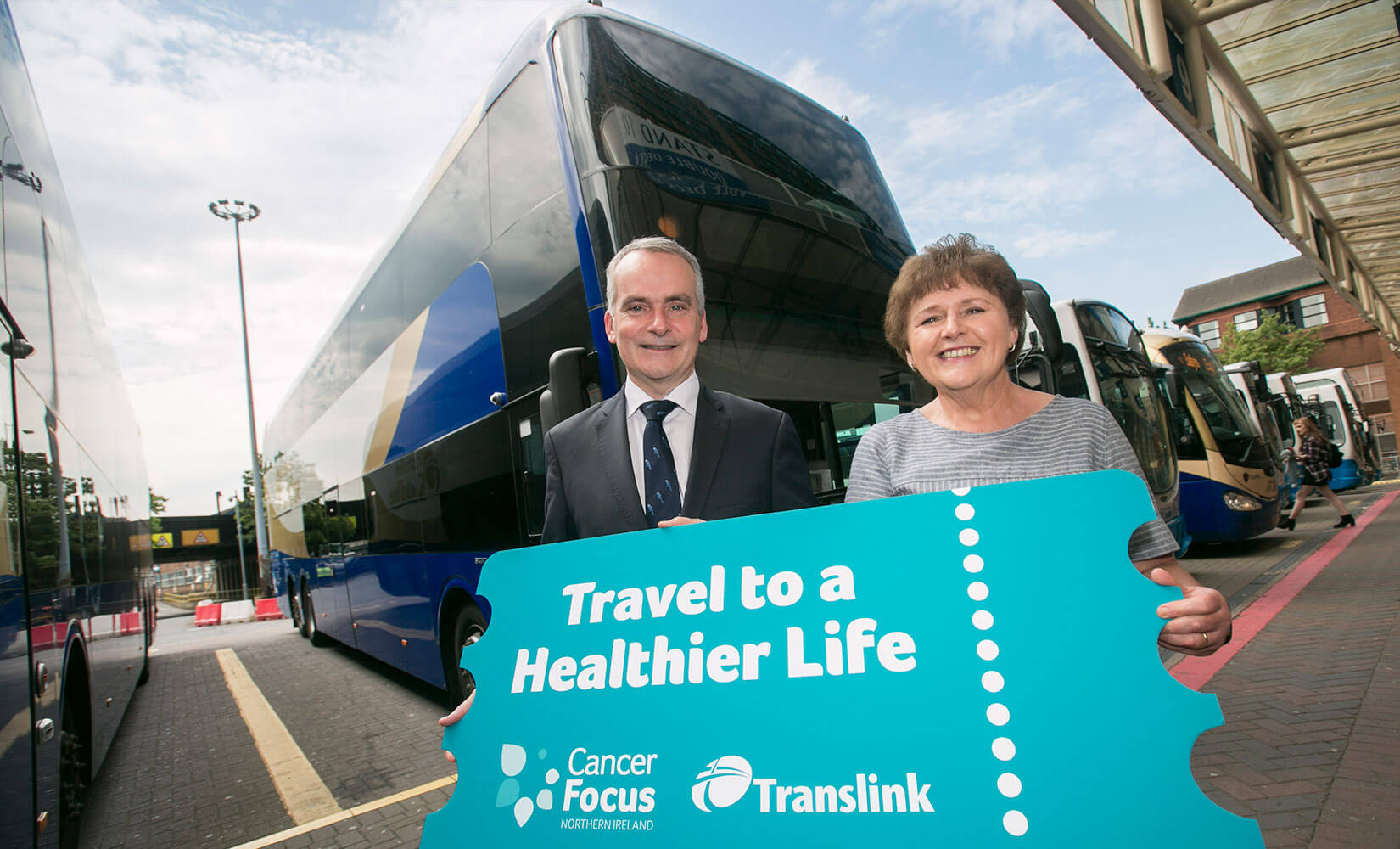 New Cancer Focus NI and Translink partnership
