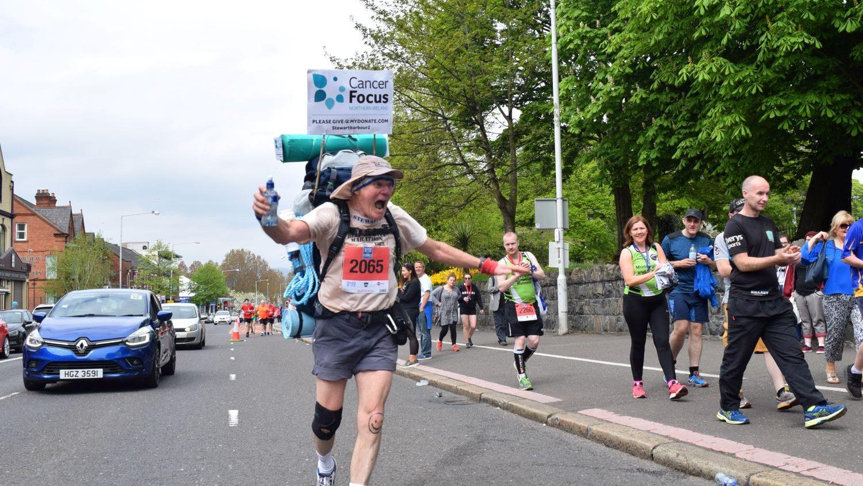 Stewart Barbour, Belfast Marathon 2018