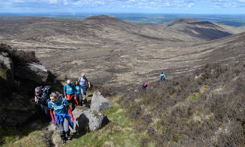 Climb the mourne mountains