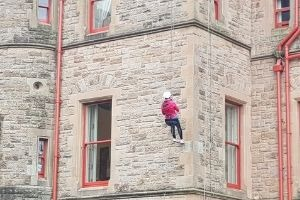 Belfast Castle Abseil – 23rd February 2020