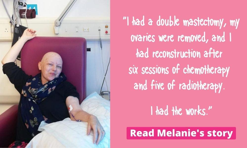 Melanie Clark Pullen (breast cancer survivor)