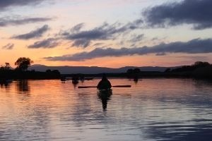 Moonlight Kayak on River Foyle, Derry/L'derry – 17th April 2021