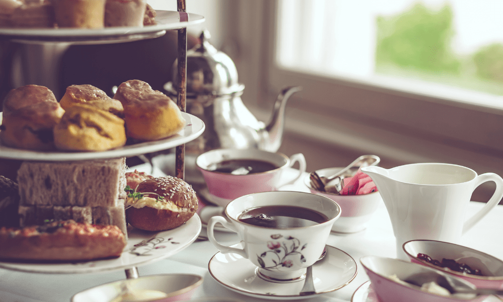 Afternoon tea New Year New You