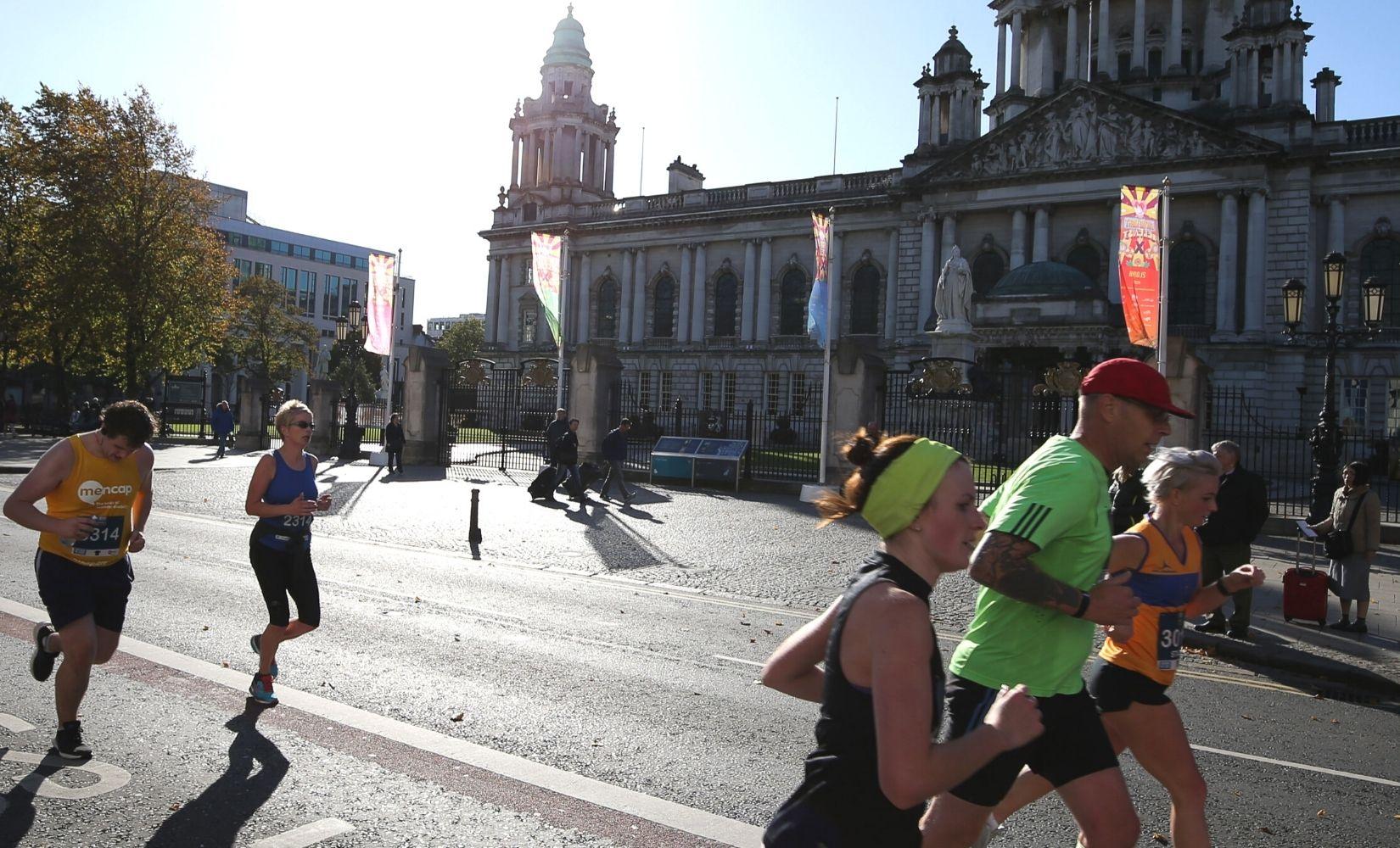 Deep RiverRock Belfast City Marathon – 3 October 2021