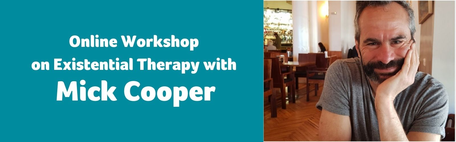 Online Workshop on Existential Therapy with Mick Cooper – 8th May 2021