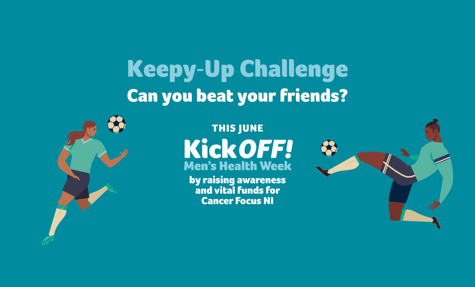 Kick OFF! The Keepy-Up Challenge